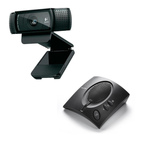 ClearOne Chat 50 USB + Logitech C920 Webcam HD