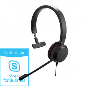 Słuchawki Jabra Evolve 20 mono MS Skype for Business