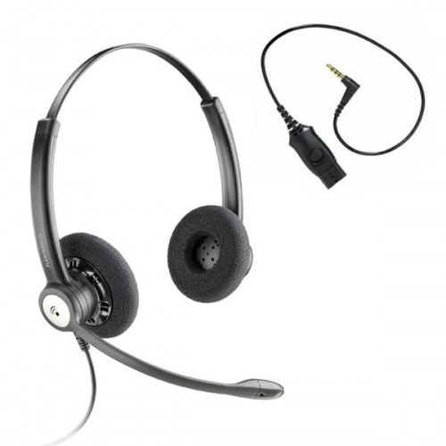 Plantronics HW121N Entera + MO300-IPHONE 4S