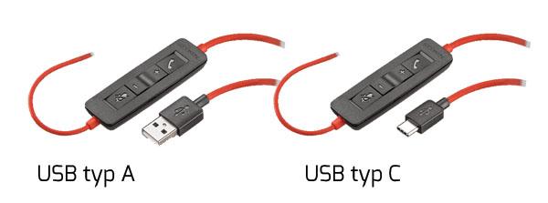 USB typ C USB typ A