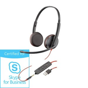 Słuchawki Plantronics Blackwire C3225 USB-A Skype for Business