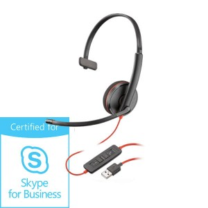Słuchawki Plantronics Blackwire C3210 USB-A Skype for Business