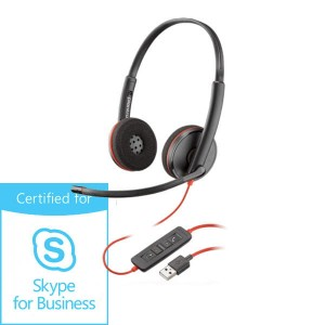 Słuchawki Plantronics Blackwire C3220 USB-A Skype for Business