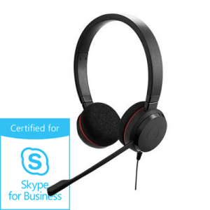 Słuchawki Jabra Evolve 20 duo MS Skype for Business