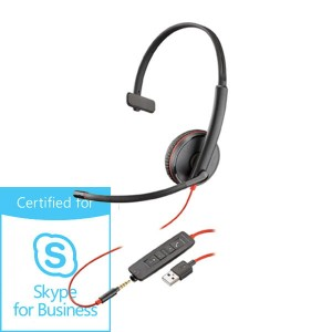 Słuchawki Plantronics Blackwire C3215 USB-A Skype for Business