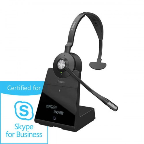 Słuchawka bezprzewodowa DECT Bluetooth Jabra Engage 75 Mono Skype for Business
