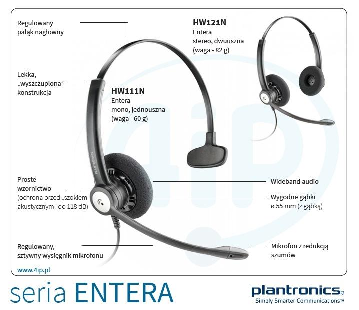 Plantronics HW121N Entera
