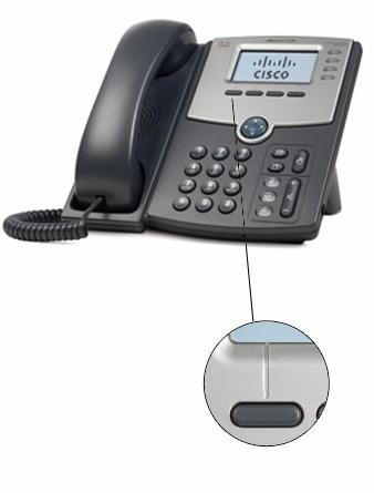 dedykowany przycisk (kontekstowy LCD) do transferu połączenia w telefonach Cisco