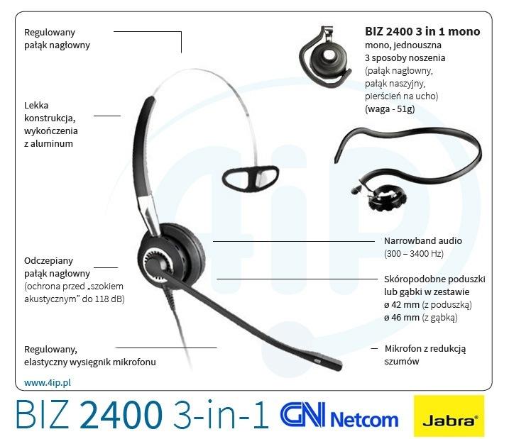 Jabra BIZ 2400 mono