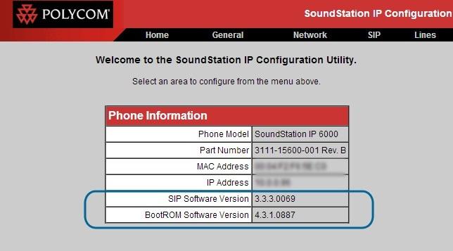 konfiguracja SoundStation IP6000