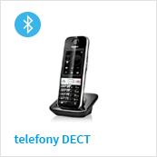 telefony bezprzewodowe DECT z obsługą Bluetooth