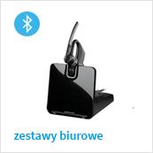 biurowe zestawy bezprzewodowe Bluetooth do telefonu stacjonarnego, komórkowego lub/i komputera