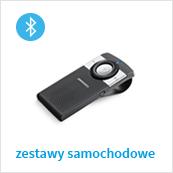 samochodowe zestawy głośnomówiące Bluetooth
