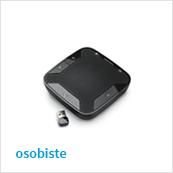 zestawy osobiste / mobilne do zdalnych audiokonferencji z użyciem komputera lub telefonu komórkowego