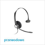 słuchawki z mikrofonem przewodowe