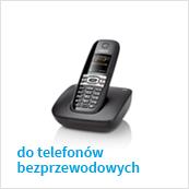 słuchawki micro jack do telefonów bezprzewodowych DECT (Panasonics, Gigaset)