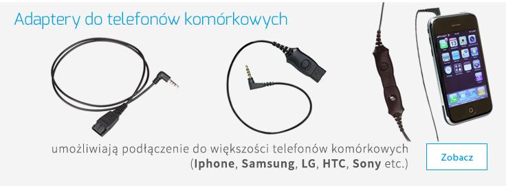 adaptery do telefonów komórkowych