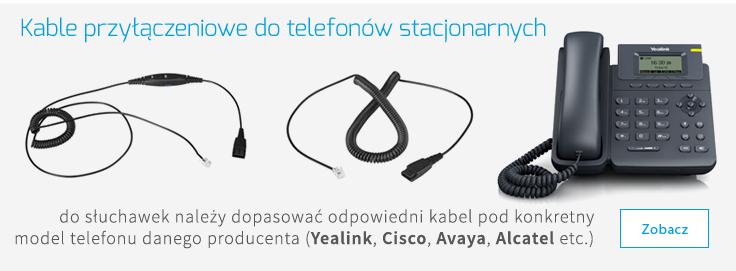 kable do telefonów stacjonarnych