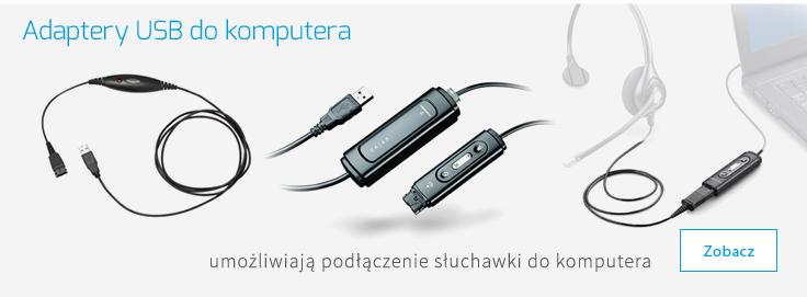 adaptery USB do komputera