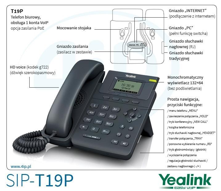 Yealink SIP-T19P